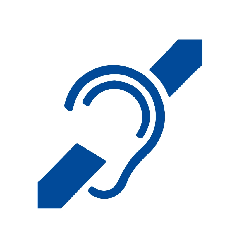 Icon for Hearing Impaired